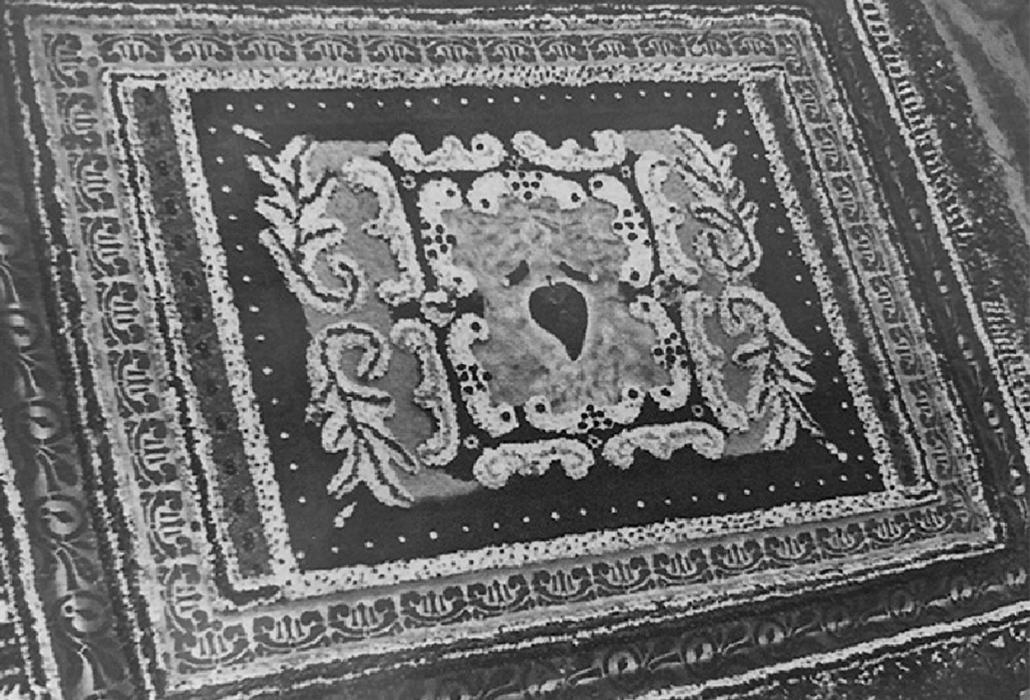 El jardín efímero de la alfombra / Archivo H. Torres